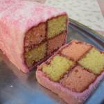 Daring Bakers 06-12: Battenberg cake|Daring Bakers 06-12: torta Battenberg