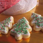 Christmas tree cookies, the easy way|Galletitas de navidad fáciles