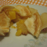 Mini peach pies|Mini pies de durazno