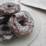 Chocolate old-fashioned donuts|Donas de chocolate old-fashioned