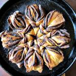Daring Bakers 02-14: Cinnamon Flower Bread|Daring Bakers 02-14: Pan de canela en forma de flor
